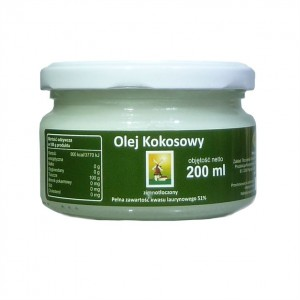 Olej kokosowy extra virgin 200ml EFAVIT