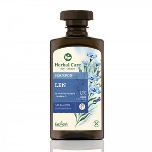 HERBAL CARE Szampon LNIANY 330ml FARMONA